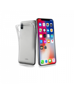 SBS Mobile Skinny Cover iPhone X/XS - Transparant